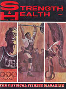 Strength & Health Magazine August 1968 Magazine