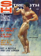 Strength & Health Magazine March 1969 Magazine
