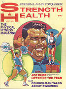 Strength & Health Magazine April 1970 Magazine