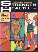 Strength & Health Magazine April 1971 Magazine