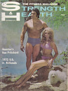 Strength & Health Magazine September 1972 Magazine