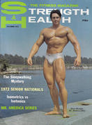 Strength & Health Magazine October 1972 Magazine