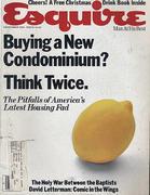 Esquire December 1, 1981 Magazine