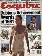 Esquire January 1, 1982 Magazine