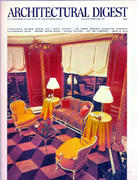 Architectural Digest January 1975 Magazine
