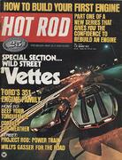 Hot Rod Magazine August 1972 Magazine