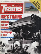 Trains Magazine February 1990 Magazine