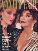 Vanity Fair Magazine March 1988 Magazine