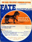 Fate Magazine September 1969 Magazine