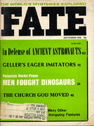 Fate Magazine September 1976 Magazine