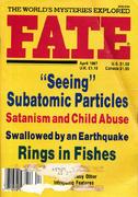 Fate Magazine April 1987 Magazine