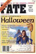 Fate Magazine October 1991 Magazine