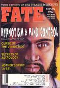 Fate Magazine February 1992 Magazine
