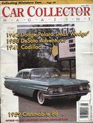 Car Collector and Car Classics Magazine June 1991 Magazine