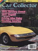 Car Collector and Car Classics Magazine November 1990 Magazine