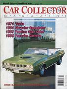 Car Collector and Car Classics Magazine March 1992 Magazine