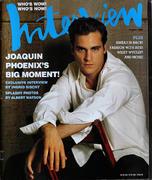 Interview Magazine August 2000 Magazine