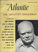 The Atlantic Magazine March 1965 Magazine