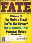 Fate Magazine November 1981 Magazine