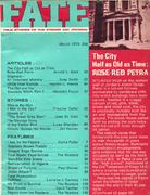 Fate Magazine March 1973 Magazine