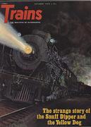 Trains Magazine October 1972 Magazine