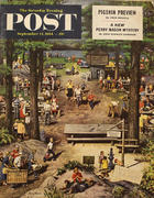 The Saturday Evening Post September 11, 1954 Magazine