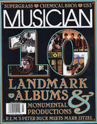 Musician Magazine July 1997 Vintage Magazine