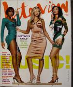 Interview Magazine August 2001 Magazine
