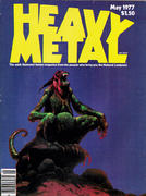 Heavy Metal Magazine May 1977 Magazine