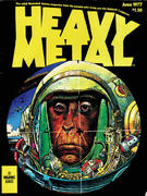 Heavy Metal Magazine June 1977 Magazine