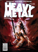 Heavy Metal Magazine January 1995 Magazine