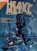 Heavy Metal Magazine April 1977 Magazine