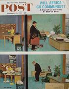 The Saturday Evening Post February 18, 1961 Magazine