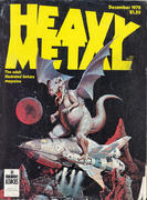 Heavy Metal Magazine December 1978 Magazine