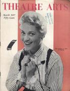 Theatre Arts Magazine March 1957 Magazine
