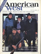 American West Magazine May 1986 Magazine