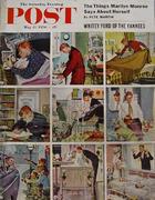 The Saturday Evening Post May 12, 1956 Magazine