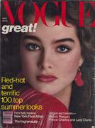 Vogue Magazine May 1981 Magazine