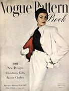 Vogue Magazine Pattern Book December 1946 Magazine