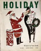 Holiday Magazine December 1952 Magazine