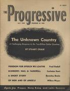 The Progressive Magazine July 1949 Magazine