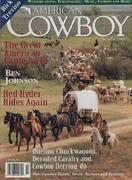 American Cowboy Magazine October 1995 Magazine