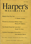 Harper's Magazine May 1946 Magazine
