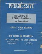 The Progressive Magazine January 1973 Magazine