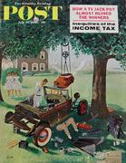The Saturday Evening Post July 15, 1961 Magazine