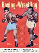 Boxing And Wrestling Magazine April 1953 Magazine