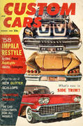 Custom Cars Magazine August 1959 Magazine