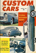Custom Cars Magazine February 1960 Magazine