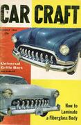 Car Craft Magazine January 1956 Magazine