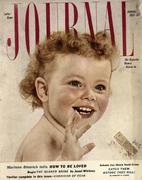 Ladies' Home Journal January 1954 Vintage Magazine